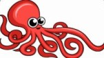 cartoon octopus