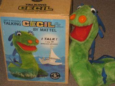 Cecil talk toy plush
