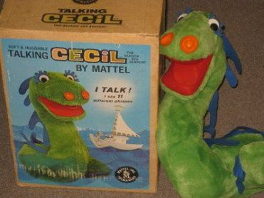 Cecil talk toy plush