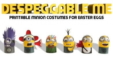 DIY-Minion-Easter Costumes