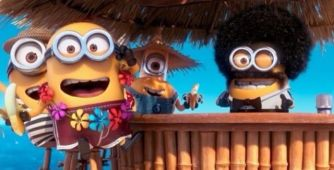 minion tiki bar