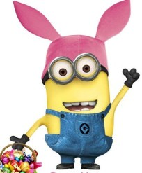 minion with Easter ears