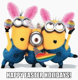 Minions Easater greeting