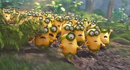 Minions Easter egg hunt
