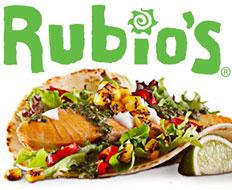 rubios logo and taco
