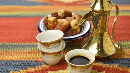 saudi arabia coffee setting