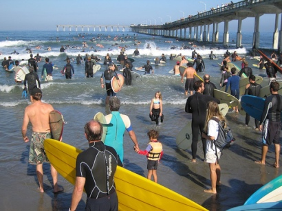 Surfrider Paddle for Clean Water