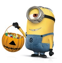 Trick or treat minion