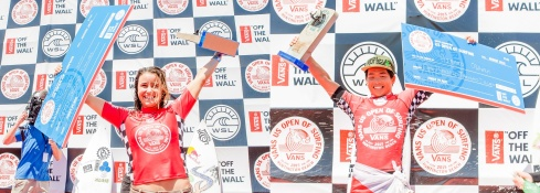 Winners Vans 2015 Surf Open
