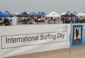 International Surfing Day banner