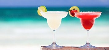 margaritas- at beach
