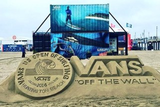 US OPEN sand sculpture