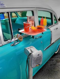 Food Tray On Car Door & Tray Door Car u0026 I Found This Car-hop Tray In An Antique Store In ... pezcame.com