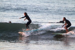 surfing action