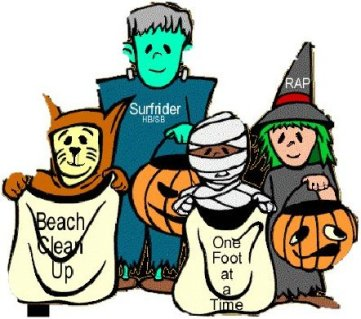 SRF Halloween cleanup drawing