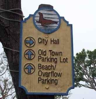 old town sign