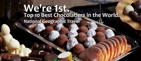 National Geographic number one chocolatesA