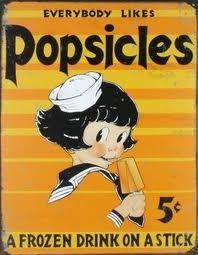 vintage popsicle poster