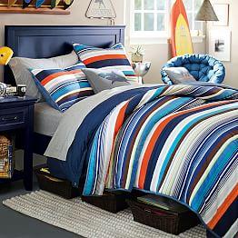 multi colored bed KS