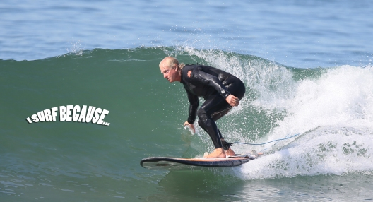 I-surf-because Michael Pless
