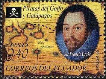 Sir Francis Drake stamp