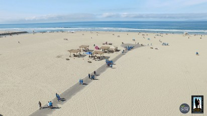 aerial view of HB