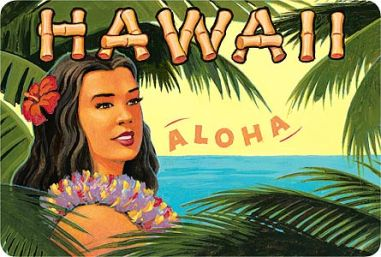 Hawaiian lady