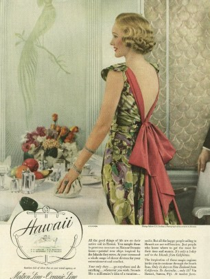 Steichen photo ad in Vogue