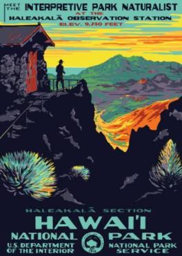 Haleakala postcard