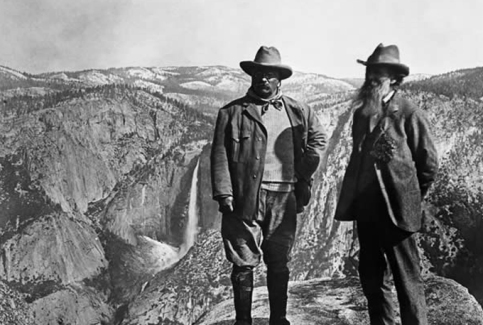 John Muir and Teddy Roosevelt