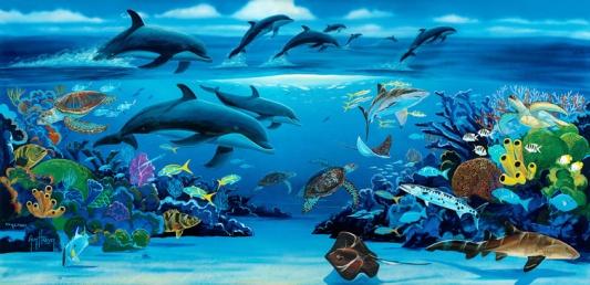 sealife-mural