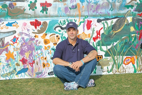 wyland-by-painted-wall