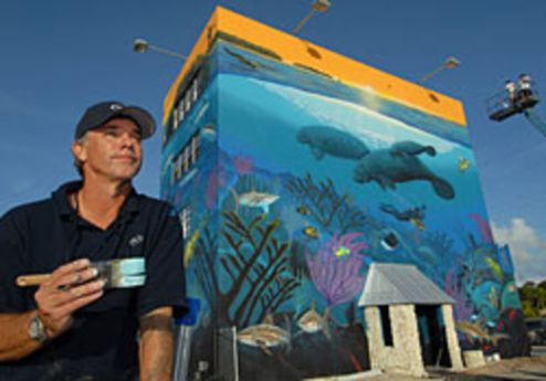 wyland-painting