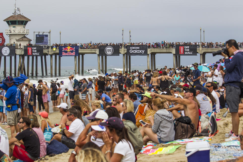 bd9a7f878e You never know what you ll see at Vans US Open of Surfing (July 29 – August  6).