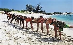 Deborah Koehn Hawaiian Yoga Adventure Surf N Beach Scene Magazine